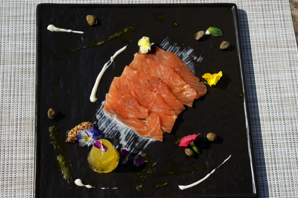 gravlax,jelly,salmon,fish