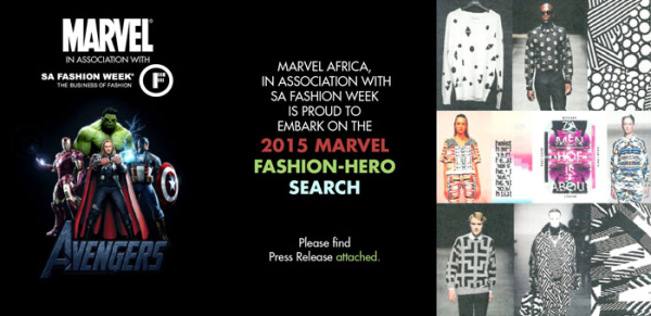 SA Fashion Week, Marvel Fashion Hero,Fashion,Design