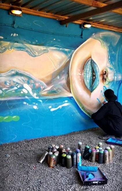 Pastelheart,sreet art,graffiti