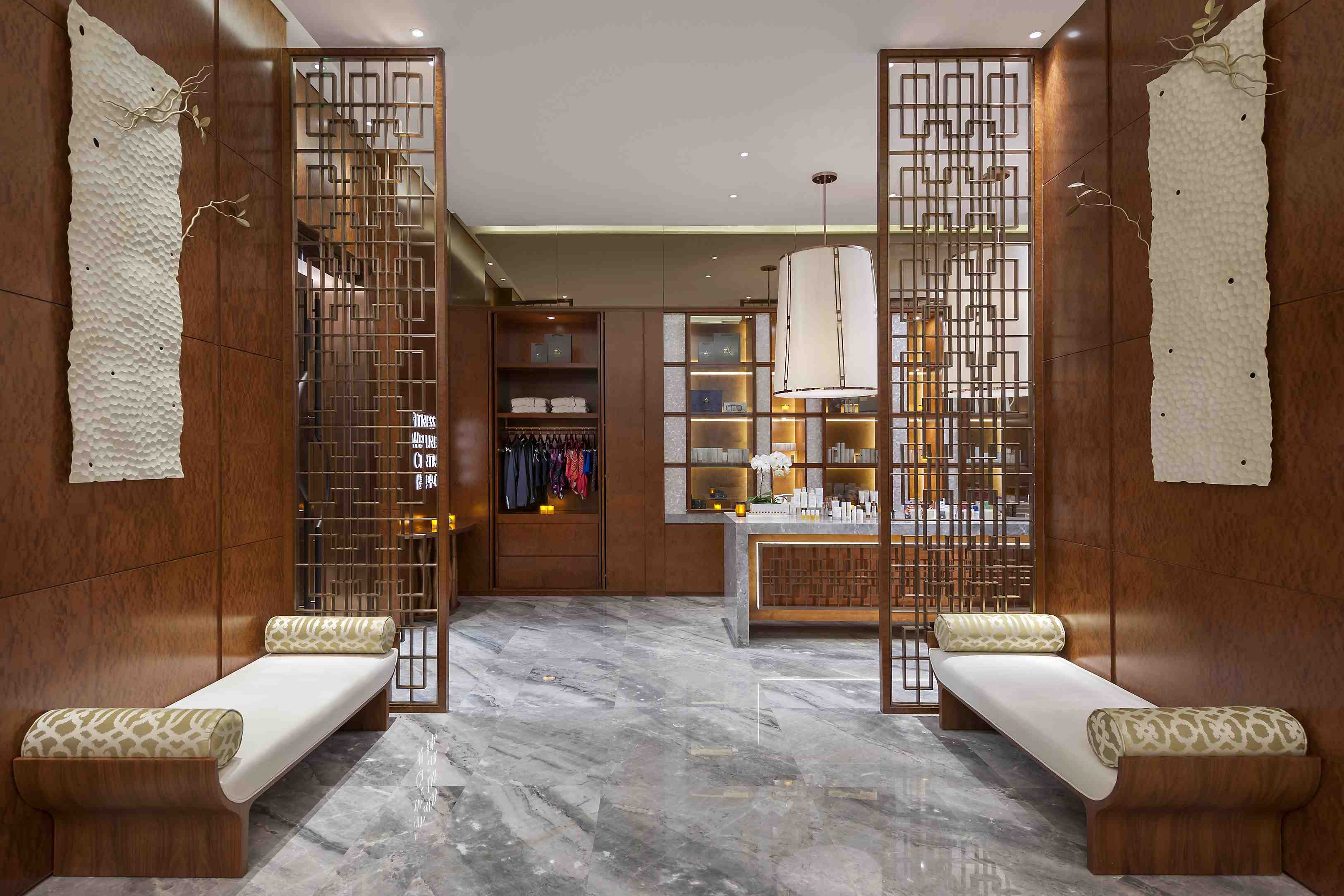 The spa at the mandarin oriental pudong shanghai urban for Salon oriental