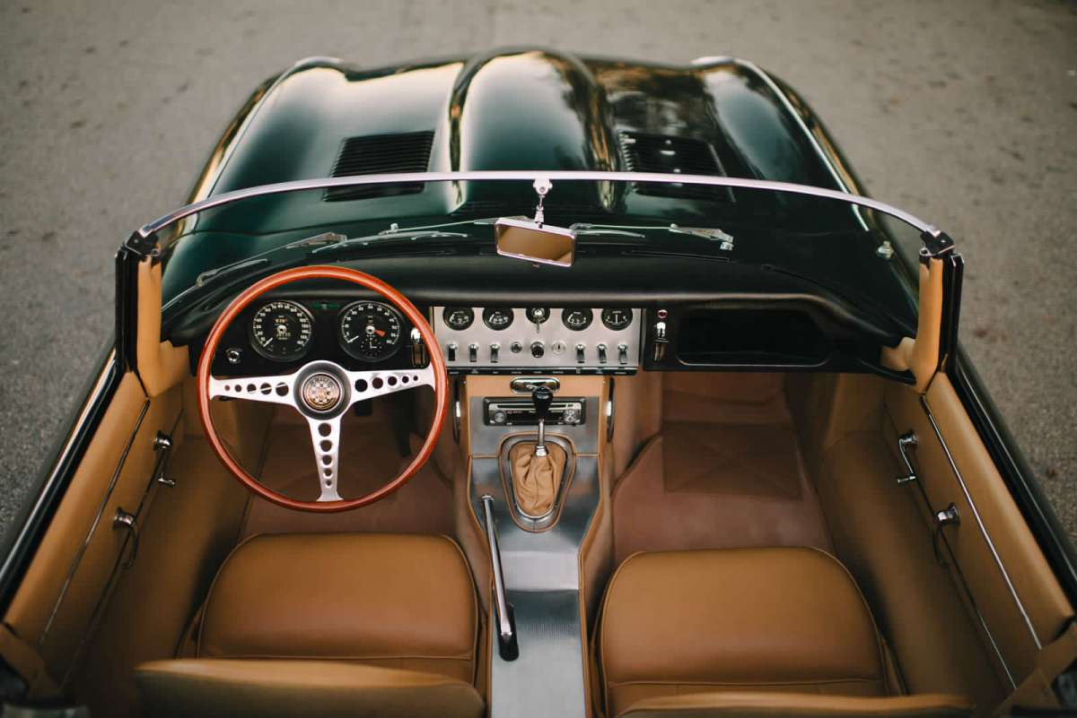 Jaguar E Type Interior Photo Of The Day Jaguar E