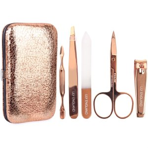 luxury_manicure_kit_set_lily_england_rose_gold_gift_new