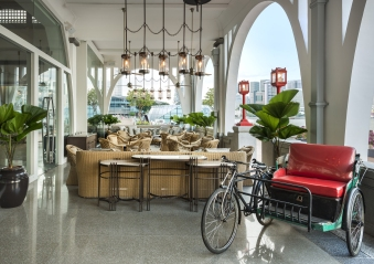 The Clifford Pier (Alfresco Area II) - The Fullerton Bay Hotel Singapore