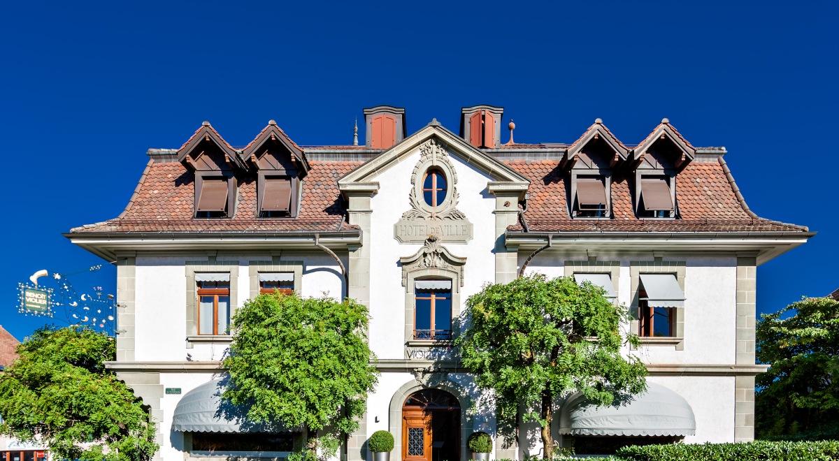 Restaurant Hotel De Ville In Crissier Switzerland Urban Life N
